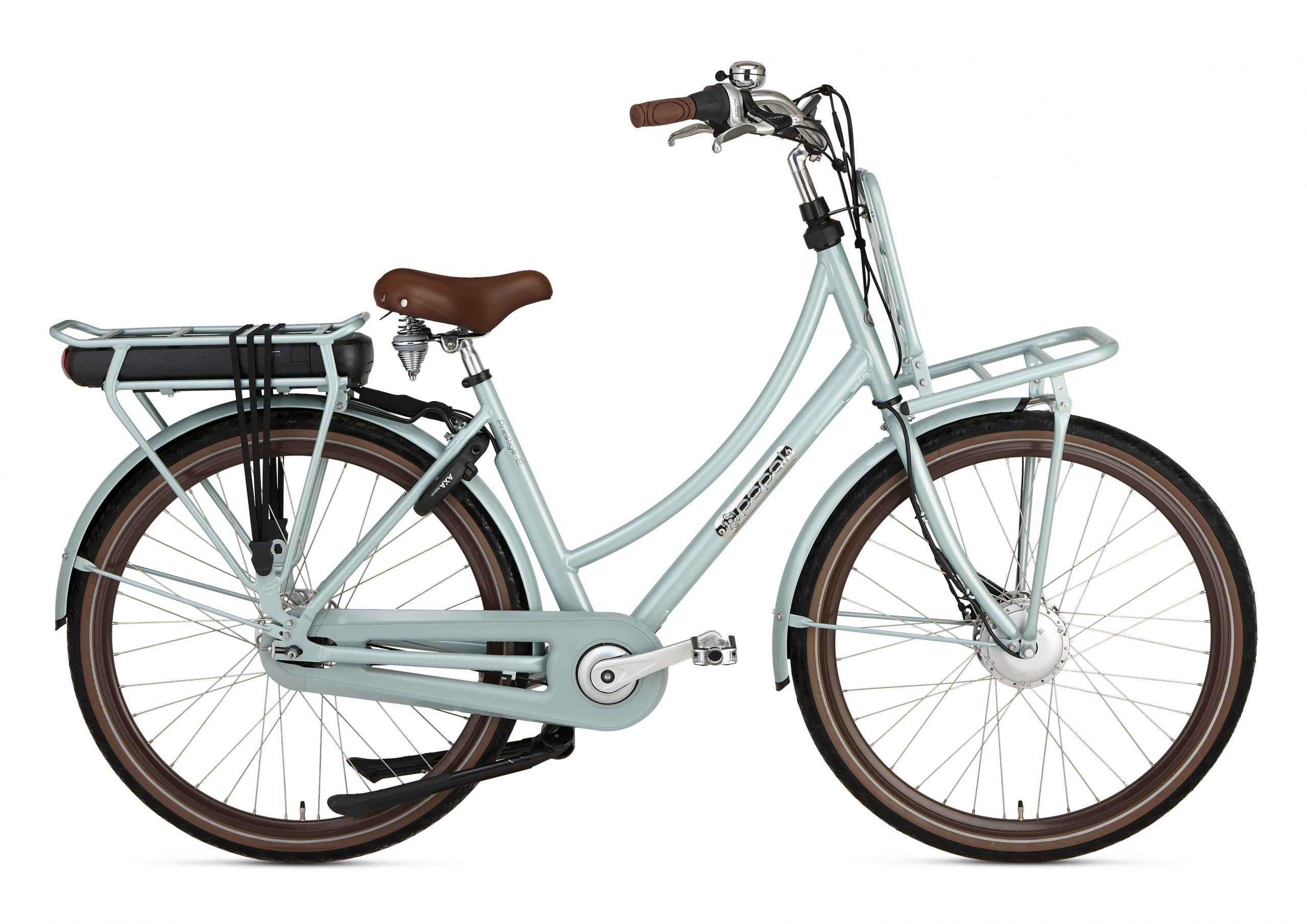 Daily Dutch Prestige-E N7 :: Havana Green :: 28 inch / 57 cm